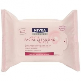 Nivea Visage Gentle Facial Cleansing Wipes Dry and Sensitive Skin