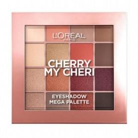 L'Oréal Paris Paradise Pastel Eyeshadow Palette - Cherry My Cheri