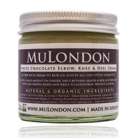 MuLondon Organic White Chocolate Elbow, Knee & Heel Cream