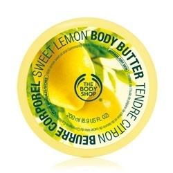 The Body Shop Sweet lemon body butter