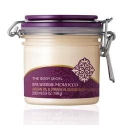 The Body Shop Moroccan Argan & Orange Body Souffle