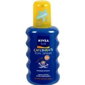 Nivea Sun Kids Coloured SPF50 Moisturising Spray