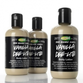 Lush Vanilla Deelite Body Lotion