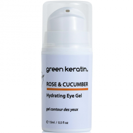 Green Keratin Rose & Cucumber Hydrating Eye Gel