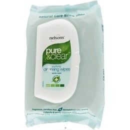 Nelsons Pure and Clear Purifying Daily Facial Wipes