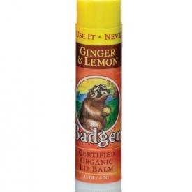 Badger Balm Ginger & Lemon Lip Balm