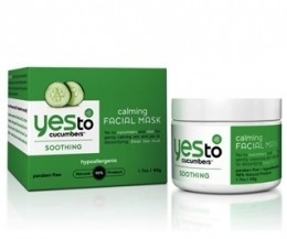 Yes To Cucumbers Soothing Calming Facial Mask