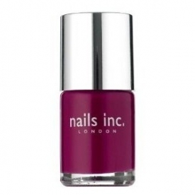 Nails Inc Piccadilly Circus Dark Cerise Nail Polish