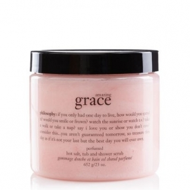 Philosophy Amazing Grace Perfumed Hot Salt, Tub And Shower Scrub