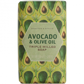 Crabtree & Evelyn Heritage Avocado & Olive Oil Milled Soap