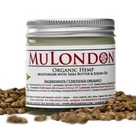 MuLondon Organic Hemp Face Moisturiser