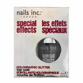 Nails Inc. Electric Lane Holographic Top Coat