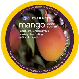 Boots Extracts Fairtrade Mango Sugar Scrub