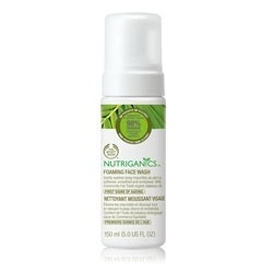 The Body Shop Nutriganics™ Foaming Face Wash