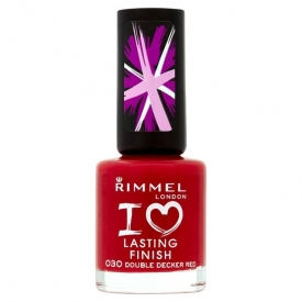 Rimmel Lasting Finish Nail Polish Double Decker Red.jpg