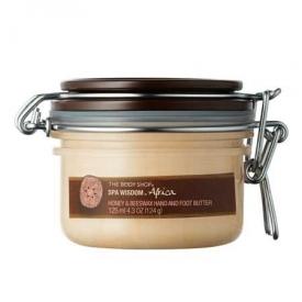 The Body Shop Africa Honey & Beeswax Hands & Foot Butter
