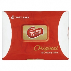 Imperial Leather Soap Original 4 Pack