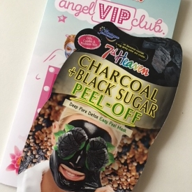 7th Heaven Charcoal + Black Sugar Peel Off Mask