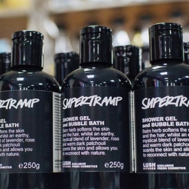 Lush Supertramp Shower Gel & Bubble Bath