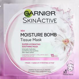 Garnier SkinActive Moisture Bomb Tissue Mask Super-hydrating Soothing Mask