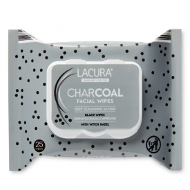 Aldi Lacura Charcoal Facial Wipes