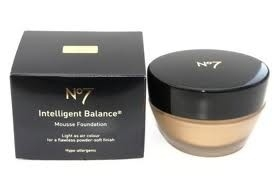 No7 Intelligent Balance Mousse foundation