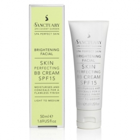 Sanctuary Brightening Facial Skin Perfecting BB Cream SF15