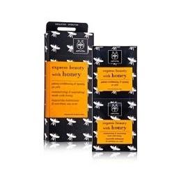 Apivita Express Beauty Moisturizing and Nourishing Mask with Honey 12 Count