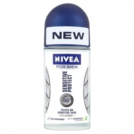 Nivea For Men Sensitive Protect 48h Anti-Perspirant Roll-On Deodorant