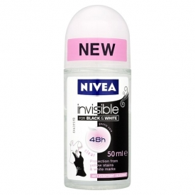 Nivea Invisible Black & White Clear Roll On