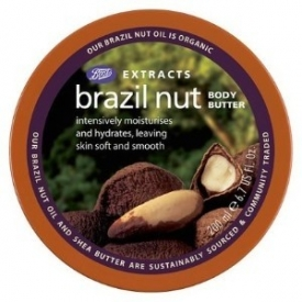 Boots Extracts Fairtrade Brazil Nut Body Butter