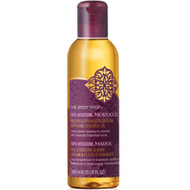 The Body Shop Moroccan Argan & Orange Bath & Shower Oil