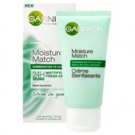 Garnier Skin Naturals Moisture Match Shine Be Gone Mattifying Fresh Cream