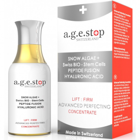 Age-Stop Switzerland Snow Algae + Stem Cells Advanced Perfecting Concentrate