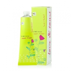 Love & Toast Paper Flower Handcreme