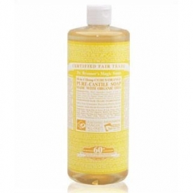 Dr Bronner's Organic Citrus Castile Liquid Soap 472ml