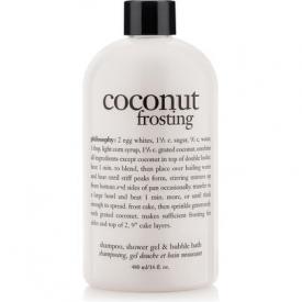 Philosophy Coconut Frosting, Shower Gel Bubble Bath & Shampoo