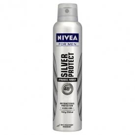 Nivea For Men Deodorant Silver Protect