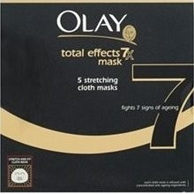 Olay Total Effects Mask 7-in-1 Anti-Ageing 5 Stretching Cloth Masks