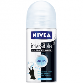 Nivea Pure Invisible for Black & White Antiperspirant Deodorant Roll-on