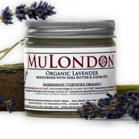 MuLondon Organic Lavender Face Moisturiser