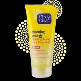 Clean & Clear Morning Energy Skin Brightening Daily Facial Scrub