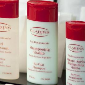 Clarins Eau Dynamisante Re-vital Shampoo