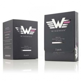 Wingman Deodorising Wipes - 8 Pack