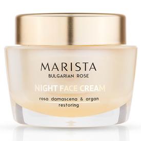 Marista Day Face Cream Rosa Damascena & Argan