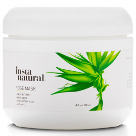 InstaNatural Skin Brightening Rose Mask
