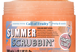 Soap and Glory Summer Scrubbin' Cooling Body Scrub