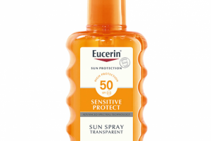 Eucerin Sensitive Protect Sun Spray Transparent SPF50