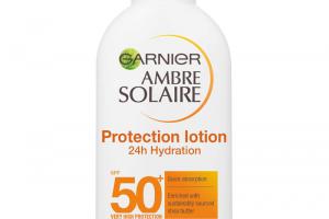 Garnier Ambre Solaire Ultra-hydrating Sun Cream SPF50+