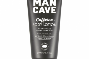 Man Cave Caffeine Body Lotion